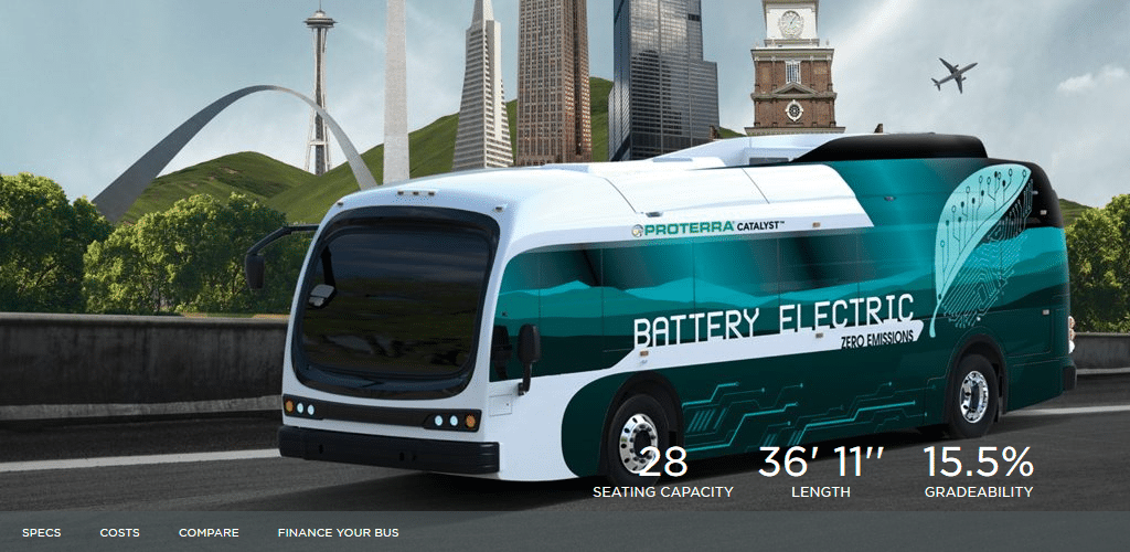 Grant Allows Montgomery County To Buy Electric Buses For Its Fleet Center For Transportation And The Environment
